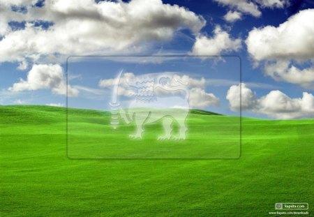 Sri Lanka - natureza, campo verde, ceu, nuvens, azul