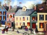 American Art - Flag Street