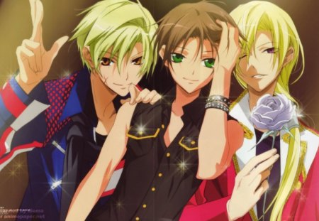 07-ghost - amazing, terrific, anime, fantastic, handsome, cute guys, 07 ghost