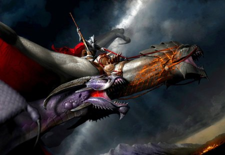 Dragon Slayer - animal, fantasy, slayer, dragon
