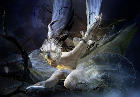Trapped - ballerina, dancer, dark, fantasy