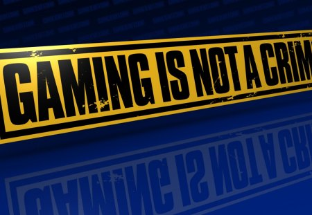 Gaming is not a Crime - fear, crysis, assasins creed, modern warfare