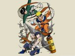 NARUTO,ROCK LEE AND HINATA