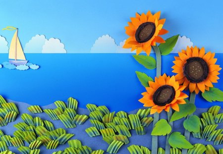Sunflowers - Flowers & Nature Background Wallpapers on