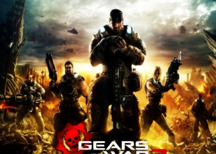 Gears 3. - video game, cool, xbox 360, gears 3