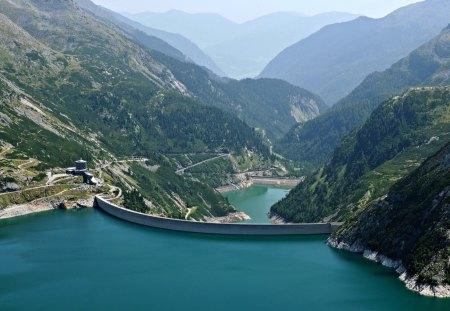 Carinthia dam Austria - 09, 2012, dam, picture, photo, 07