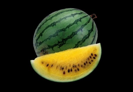 Cloning Melons...the pros and cons - slice, green, melon, yellow