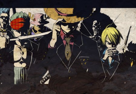 One Piece Luffy And Company Other Anime Background