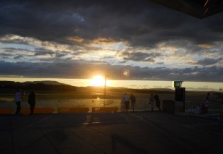 Sunset Zurich - nice, airport, nature, beautiful, sunset, magnificant, zurich, picture