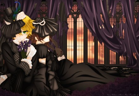 Pandora Hearts - oz, art, alice, anime