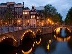 Reguliersgracht corner Amsterdam