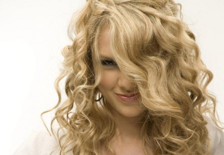 Taylor Swift - curls, blond, swift, taylor