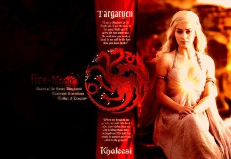 Game Of Thrones House Targaryen Tv Series