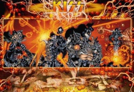 Kiss Music Entertainment Background Wallpapers On Desktop