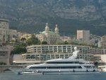 Yacht docking in Monte Carlo