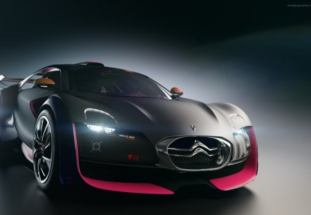 CONCEPET CAR - black, citroen, concept, car