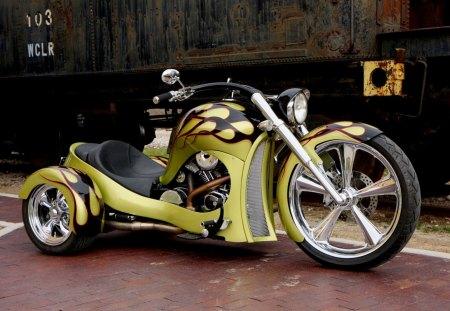 Harley Davidson - trike, harley, davidson, bike