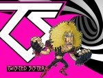 Twisted Sister Wallpaper