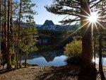 Sunbeam Lake in the Trees