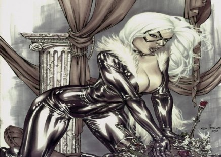 Black Cat (Comics) - marvel, cat burglar, spider man, felicia hardy