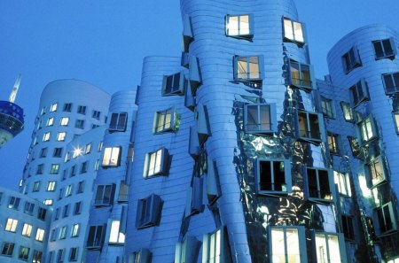 modern architecture in germany - modern, buildings, tower, twisted