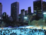 skaters at wollman rink in central park