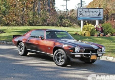 1973 Camaro - Chevrolet & Cars Background Wallpapers on