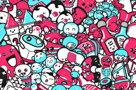 Too Cute Fantasy Abstract Background Wallpapers On