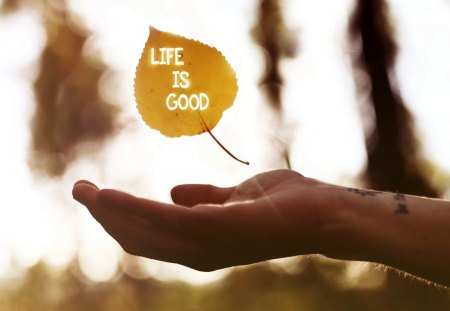 Life Is Good Photography Abstract Background Wallpapers