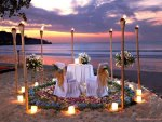 Romantic Dining on the Beach