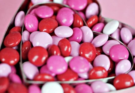 Pink Candy Heart ~ - pink, yummy, candy, heart, new