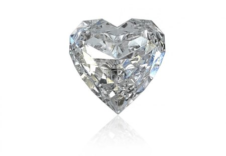 Diamond heart - valentine, diamond, heart, love