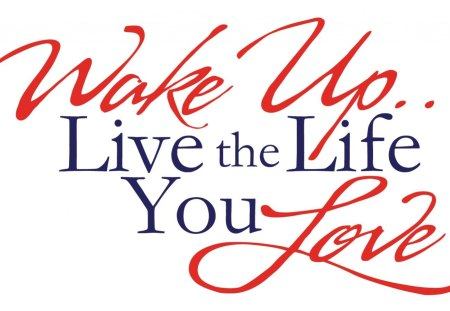 ~Live the Life You Love~ - smart, motivational, wonderful, life, words, clever, energy, live, positively, love