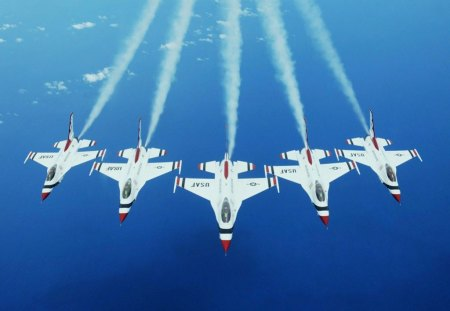 The U.S Air Force - military, us air force, f16, warplane, war
