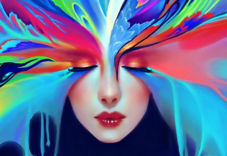 Colors  - digital, beautiful, abstract, art