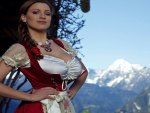 Jordan Carver in the Mountain