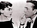 Humphrey Bogart & Audrey Hepburn