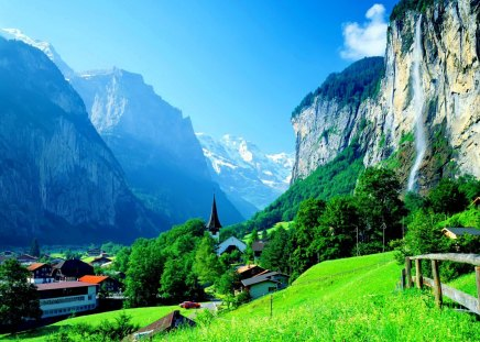 Lovely Switzerland Mountains Amp Nature Background