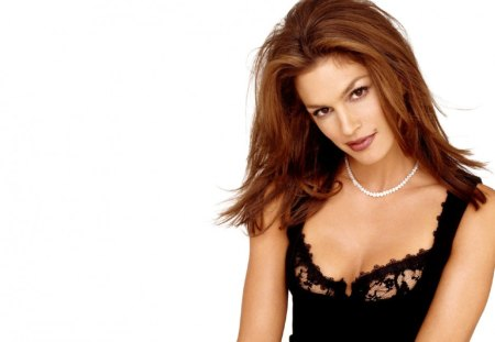 Cindy Crawford - star - sensual, pretty, splendid, beautiful, woman, cindy crawford, supermodel, famous, beauty, face, long hair, star, big hair, celebrity, necklace, tempting, sexy, lips, brunette, makeup, passion, eyes