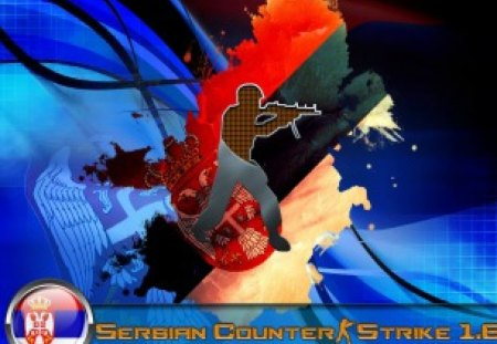 Serbian Counter Strike 1.6 - strike, counter, wallpaper, serbian