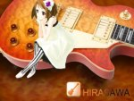 guitar hirasawa_yui k on signed