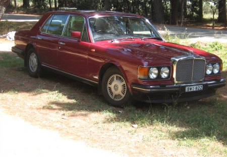 1990 Bentley Mulsanne Eight - mulsanne, bentley, 1990, eight