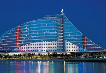 Jumeirah Beach Hotel Dubai - dubai, jumeirah, hotel, beach