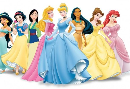 Disney's Women. - fabulous, collection, a, of