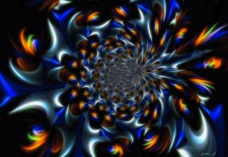 Fantasy world - color, texture, background, wallpaper, fractal