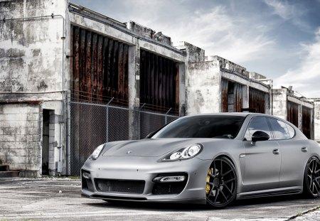 Porsche panamera - car, panamera, orsche, silver