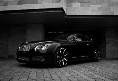 Kahn Bentley - kahn, black, bentley, rims