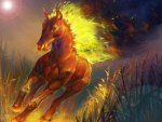 FIERY STEED