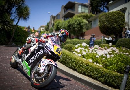 LCR Honda - Stefan Bradl - incredible, san francisco, motorcycles, nature, amazing, bradl, honda, moto, awesome, motor, stefan