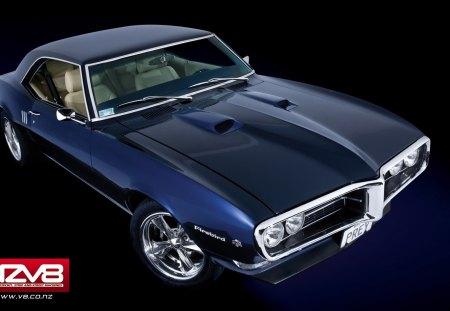 1968 Firebird - classic, auto, 1968, musclecar, car, firebird, pontiac
